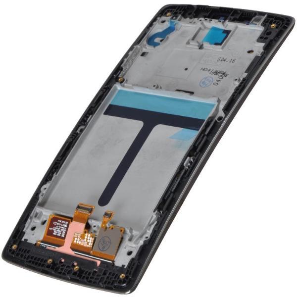 PANTALLA LCD DISPLAY + TACTIL CON MARCO PARA LG OPTIMUS G FLEX 2 H955 - NEGRO