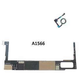 PLACA BASE ORIGINAL MOTHERBOARD IPAD AIR 2 16GB WIFI A1566 CON BOTON BLANCO  - RECUPERADA