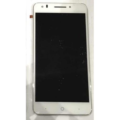 PANTALLA LCD + TACTIL CON MARCO PARA PARA ZTE BLADE A570 - BLANCO