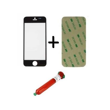 Kit de Reparacion Cristal iPhone 5 Negro