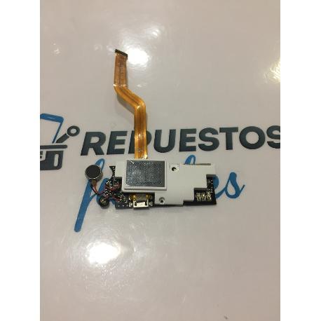 FLEX CONETOR DE CARGA CON BUZZER BLANCO ORIGINAL WOXTER ZIELO Z450 Z-450 - RECUPERADO