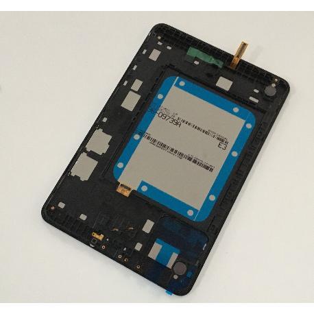 PANTALLA LCD DISPLAY + TACTIL CON MARCO ORIGINAL PARA SAMSUNG SM-T355N GALAXY TAB A 8.0 LTE - NEGRA