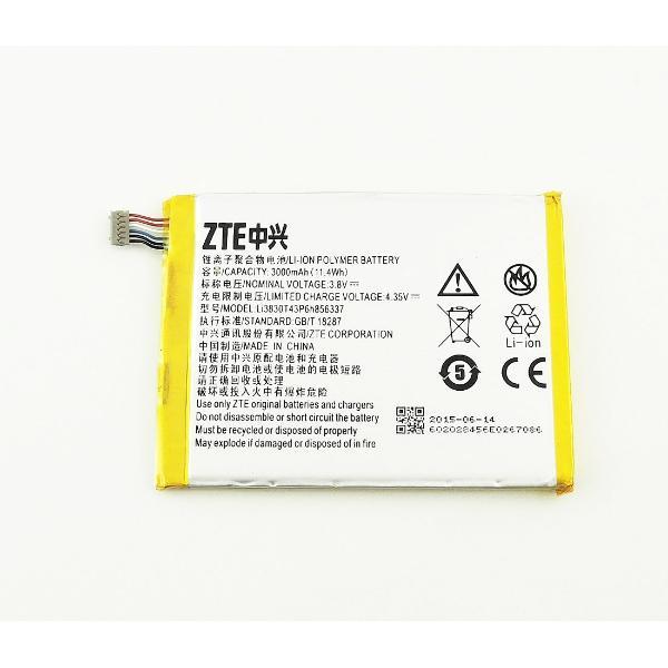 BATERIA ORIGINAL LI3830T43P6H856337 ZTE BLADE S6 PLUS - RECUPERADA