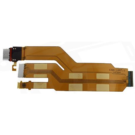 FLEX CONECTOR DE CARGA USB TYPE-C PARA SONY XPERIA XZ (F8331), XPERIA XZ DUAL (F8332)