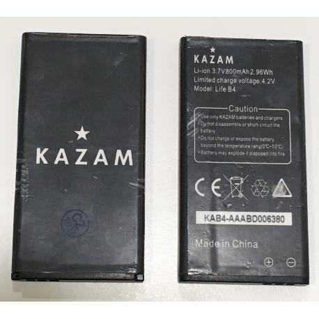 BATERIA ORIGINAL KAZAM LIFE B4 - RECUPERADA