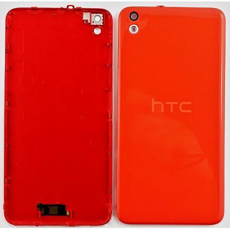TAPA TRASERA DE BATERIA CON LENTE DE CAMARA ORIGINAL HTC DESIRE 816 - ROJA