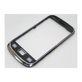 Marco Frontal Original Samsung s6500 Galaxy Mini 2 Cromado