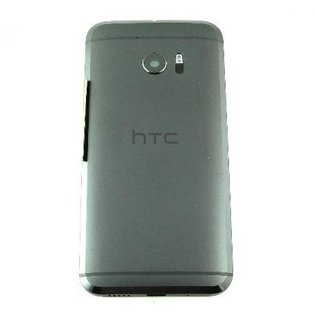 CARCASA TAPA TRASERA DE BATERIA PARA HTC 10 - NEGRA