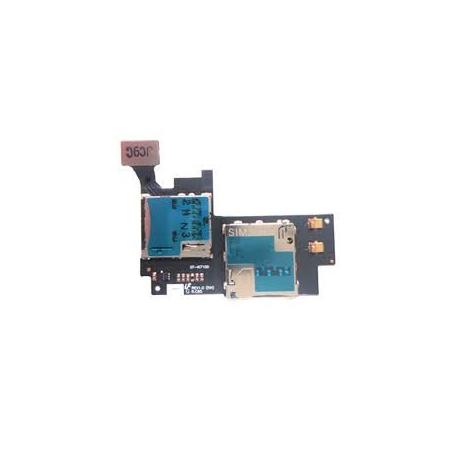 Flex tarjeta Sim y sd Original Samsung Galaxy note 2 n7100 N7100