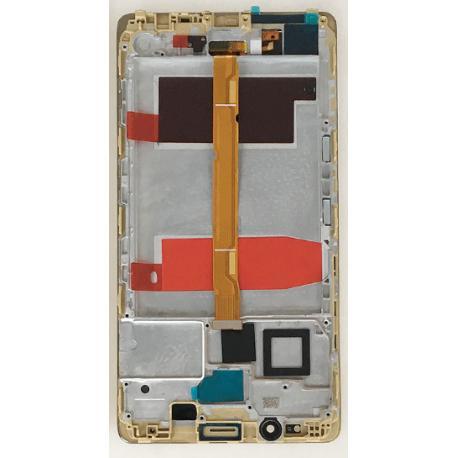 PANTALLA LCD DISPLAY + TACTIL CON MARCO HUAWEI MATE 8 - ORO