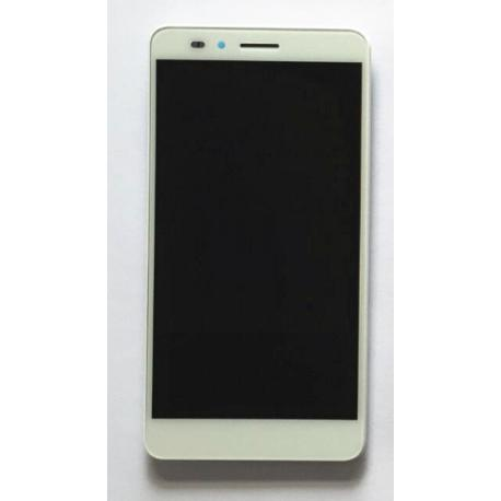 PANTALLA LCD DISPLAY + TACTIL CON MARCO PARA HUAWEI Y6 PRO - BLANCA