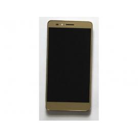 PANTALLA LCD DISPLAY + TACTIL CON MARCO PARA HUAWEI Y6 PRO - ORO