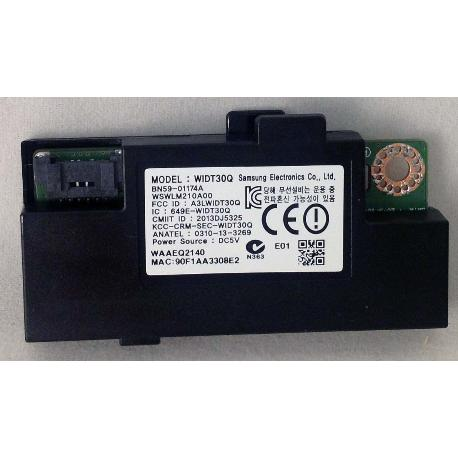 WIFI MODULE (WIDT30Q) BN59-01174A PARA TV SAMSUNG UE55H8000SL