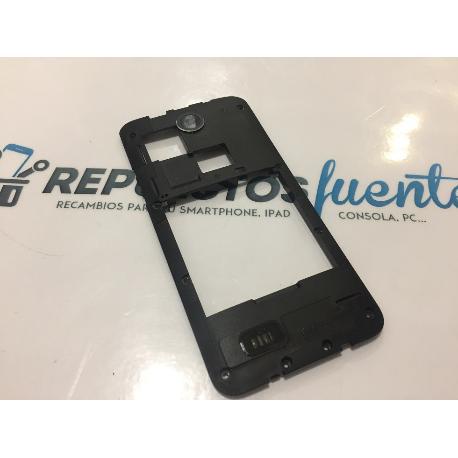 CARCASA INTERMEDIA ORIGINAL HTC DESIRE 300 0P6A100 - RECUPERADA