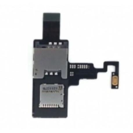FLEX LECTOR SIM Y SD ORIGINAL HTC DESIRE X T328E - RECUPERADO