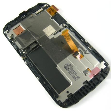 PANTALLA LCD DISPLAY + TACTIL CON MARCO ORIGINAL HTC DESIRE X T328E - RECUPERADA