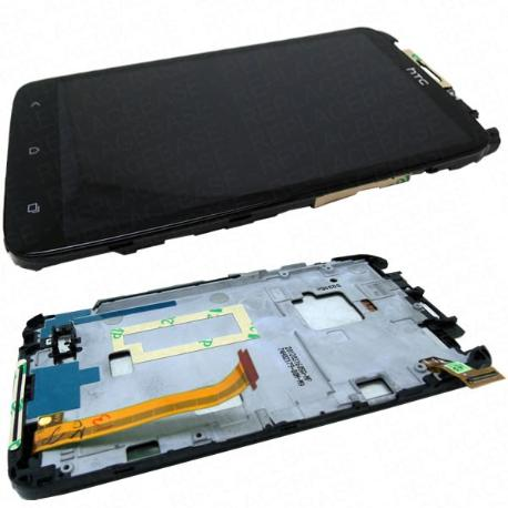 PANTALLA LCD DISPLAY + TACTIL CON MARCO ORIGINAL HTC ONE X G23 - RECUPERADA