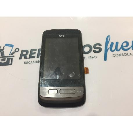 PANTALLA LCD DISPLAY + TACTIL CON MARCO ORIGINAL HTC TOUCH 2 99HJZ042-00 - RECUPERADA