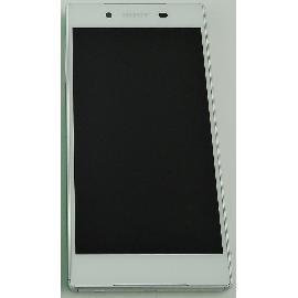 PANTALLA LCD DISPLAY + TACTIL CON MARCO ORIGINAL PARA SONY XPERIA Z5 E6603, E6653 - BLANCA / DESMONTAJE