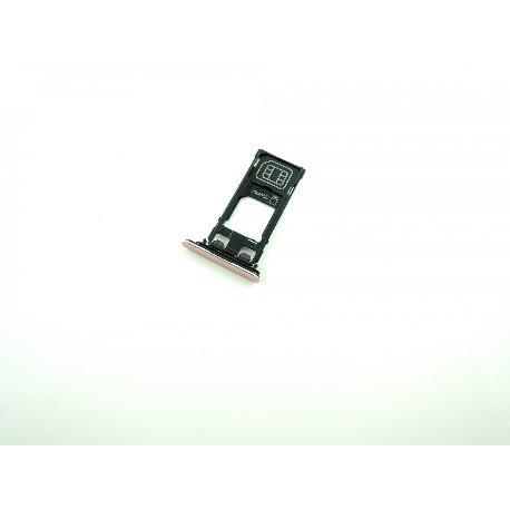 BANDEJA DE TARJETA SIM / SD CARD PARA SONY XPERIA XZ F8331 - ROSA