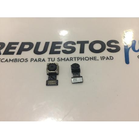 CAMARA TRASERA Y FRONTAL ORIGINAL COOLPAD TORINO R108 Y91-U00 MAX LITE - RECUPERADA