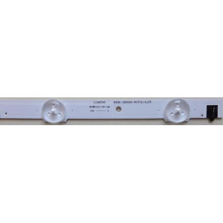 TIRA LED LUMENS D2GE-320SC0-R3[12.12.27] PARA TV LG UE32F6100AW  BN96-25300A