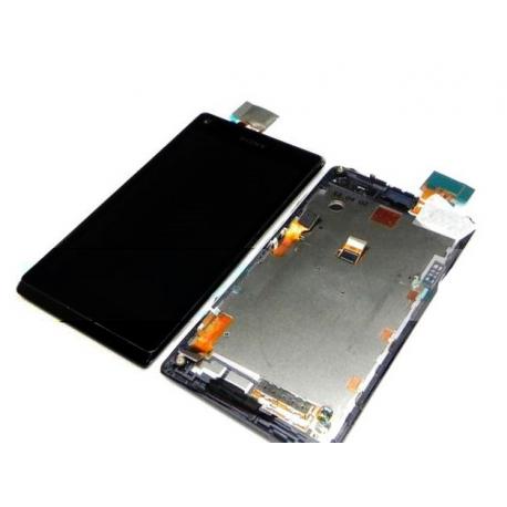 Repuesto pantalla lcd + tactil Sony Xperia L C2104 C2105 s36h negra
