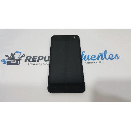 PANTALLA LCD + TACTIL CON MARCO ORIGINAL PARA QILIVE Q 4868 - RECUPERADA