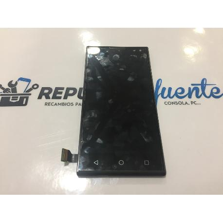 PANTALLA LCD DISPLAY + TACTIL CON MARCO ORIGINAL WEIMEI WE - RECUPERADA