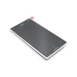 Pantalla Completa con Marco Frontal Original Sony Xperia Acro s Lt26w Blanca