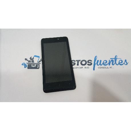 PANTALLA LCD + TACTIL CON MARCO ORIGINAL PARA QILIVE Q 4415 - RECUPERADO