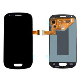 PANTALLA LCD + TACTIL CON MARCO ORIGINAL SAMSUNG GALAXY S3 MINI I8190 - BLANCA LE FLEUR / DESMONTAJE