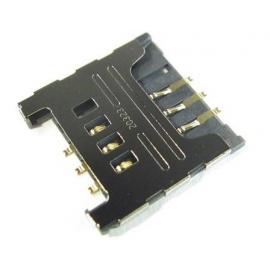 Lector de tarjeta sim original para Samsung s5570 n7000 s5360