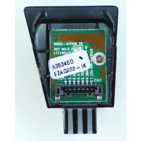 MODULO SENSOR CONTROL REMOTO TV SAMSUNG EU40JU6000K JU7500 REV NO: 2.2