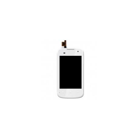 Pantalla lcd + Tactil con marco Frontal Original BQ Aquaris 3.5 Blanco