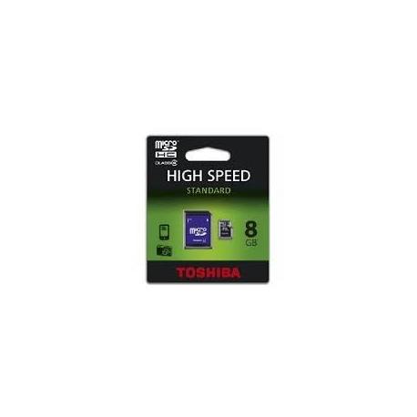 Tarjeta de memoria de 8 GB Clase 4 MicroSD TOSHIBA