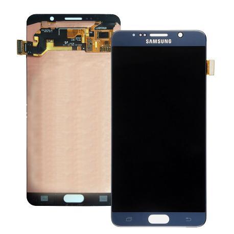 PANTALLA LCD DISPLAY + TACTIL ORIGINAL PARA SAMSUNG SM-N920F GALAXY NOTE 5 - AZUL