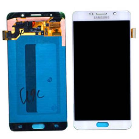 PANTALLA LCD DISPLAY + TACTIL ORIGINAL PARA SAMSUNG SM-N920F GALAXY NOTE 5 - BLANCA