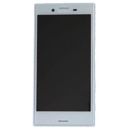PANTALLA LCD DISPLAY + TACTIL CON MARCO PARA SONY XPERIA X COMPACT F5321 - AZUL