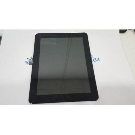 PANTALLA LCD + TACTIL CON MARCO ORIGINAL PARA SPC INTERNET GLEE 9.7 QUAD CORE - RECUPERADA