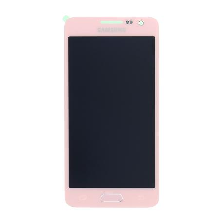 PANTALLA LCD DISPLAY + TACTIL ORIGINAL PARA SAMSUNG A300F GALAXY A3 - ROSA