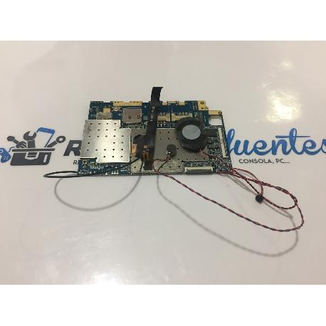PLACA BASE ORIGINAL SPC GLEE 10.1 3G VERSION 1.1 QUAD CORE - RECUPERADA
