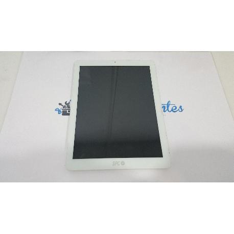 PANTALLA LCD + TACTIL CON MARCO ORIGINAL PARA SPC GLOW 9.7 QUAD CORE 3G - RECUPERADA