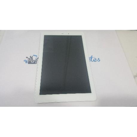 PANTALLA LCD + TACTIL CON MARCO ORIGINAL PARA SPC GLOW 10.1 QUAD CORE 3G VERSION 1.1 - RECUPERADA