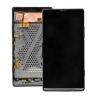 Repuesto pantalla lcd + tactil con marco Original Sony Xperia SP C5303 C5302 M35H Negra de Desmontaje