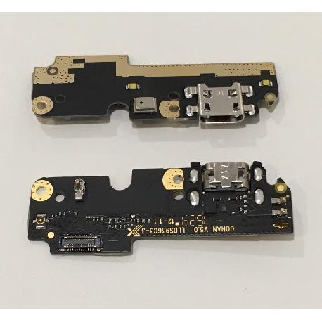 MODULO CONECTOR DE CARGA MICRO USB, MICROFONO Y ANTENA PARA BQ AQUARIS X5 PLUS