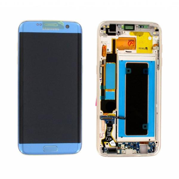 PANTALLA LCD DISPLAY + TACTIL ORIGINAL PARA SAMSUNG GALAXY S7 EDGE G935F - AZUL / CORAL