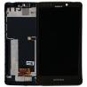 Repuesto pantalla lcd + tactil con marco Original Sony Xperia T LT30 LT30P Negra de Desmontaje