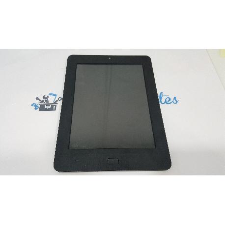PANTALLA LCD + TACTIL CON MARCO ORIGINAL PARA SPC INTERNET MORFEO 8 - RECUPERADA