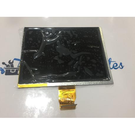 PANTALLA LCD DISPLAY ORIGINAL  SPC INTERNET NITRO 8B (TAPA NEGRA) - RECUPERADA